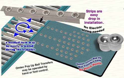 Integrate Workbench and Conveyor Using Pop Up Ball Transfer